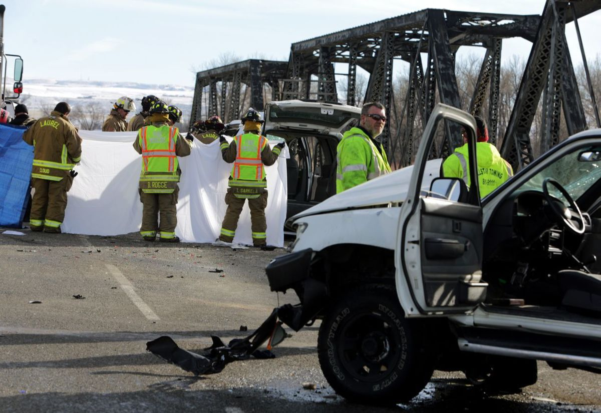 Montana rosebud county angela - Billings Mt One Person Died 1 Injured In Crash With Toyota Suv South Of Laurel On Monday Morning December 28 2015