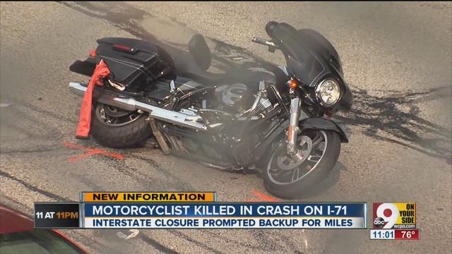 Columbia OH Crash On I 71 Near Ridge Exit Kills Motorcyclist Monday July 6th 2015