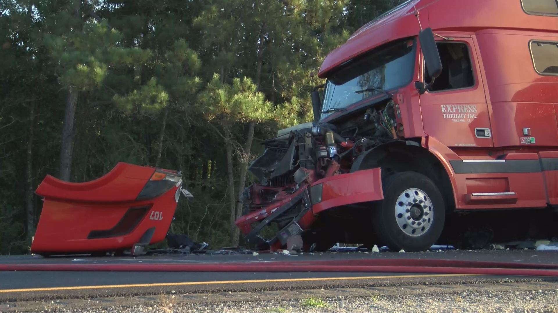 Mississippi jefferson county harriston - Hancock County Ms One Person Died After A Wreck Involving Three 18 Wheelers On Interstate 10 In Bay St Louis On Monday Oct 19 2015